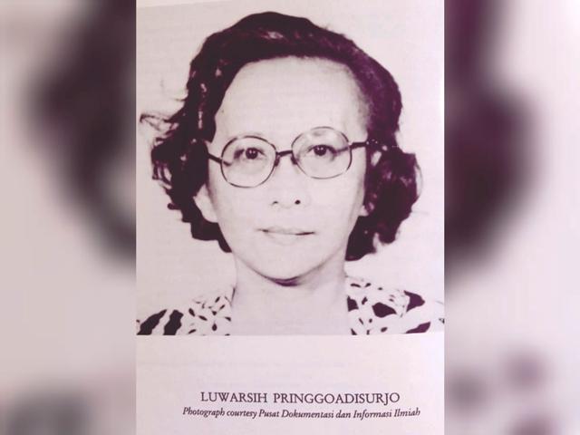 Luwarsih Pringgoadisurjo MA (Direktur ke 2 PDIN -LIPI)